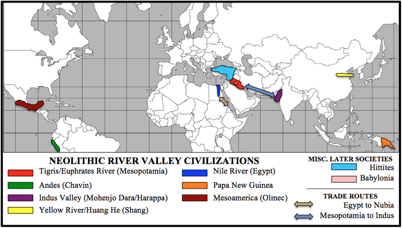comparison of mesopotamia and north africa North africa/southwest asia is an excellent example of how dependent people are on access to water, even today most of the people in the area live in areas with relatively easy access to water the parts of the region that contain no water are often uninhabited.