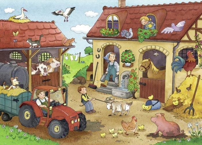 Thema boerderij | Juf Anke lesidee kleuters | Dieren