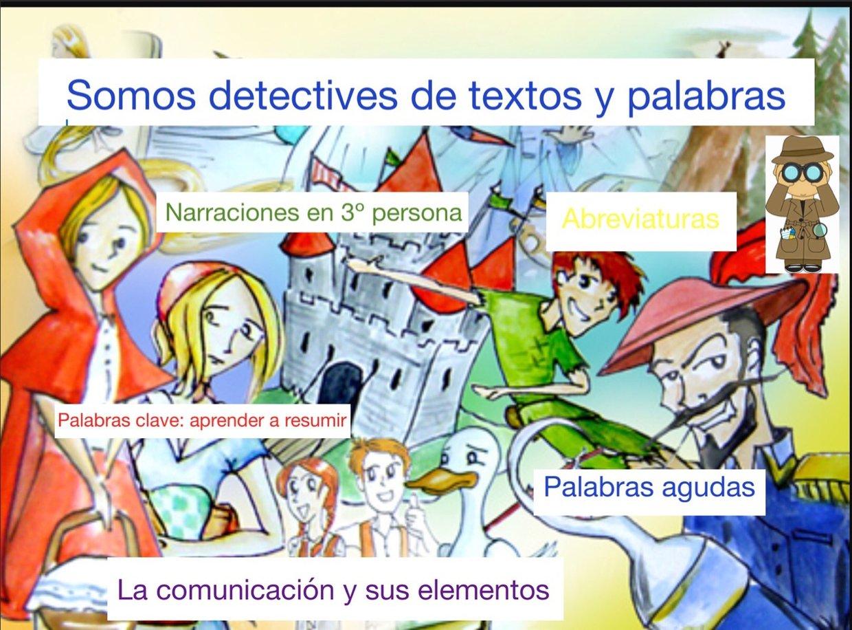 Detectives de palabras y textos