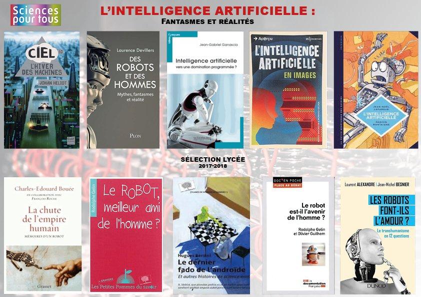 Prix du livre Sciences Pour Tous - Sélection lycée 2017/2018