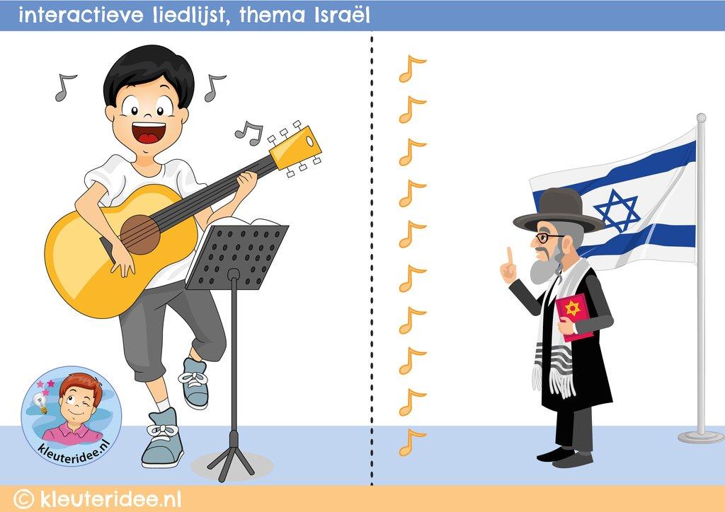 Kleurplaten Thema Familie.Kleuteridee Israel