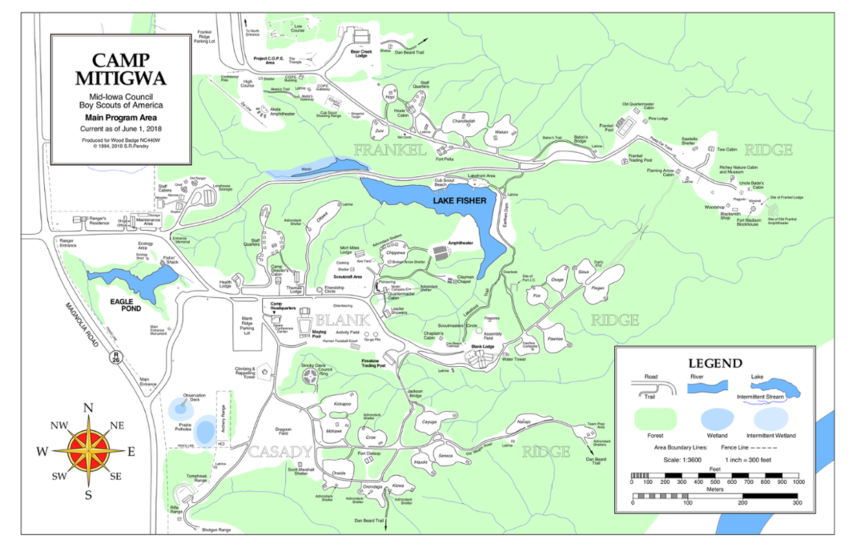 Camp Mitigwa Interactive Map