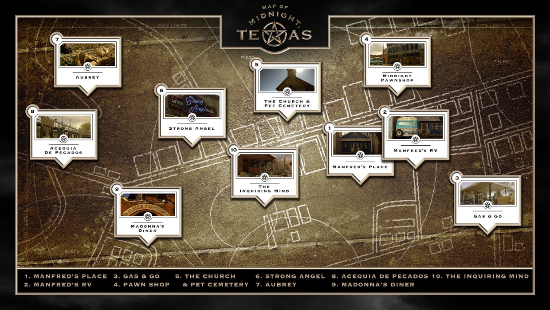 Map Of Midnight Texas Map of Midnight, Texas