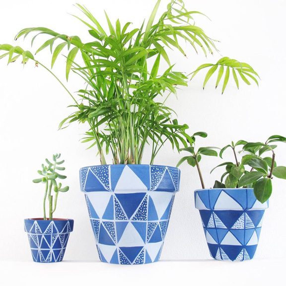 Plant pots by This Way to the Circus