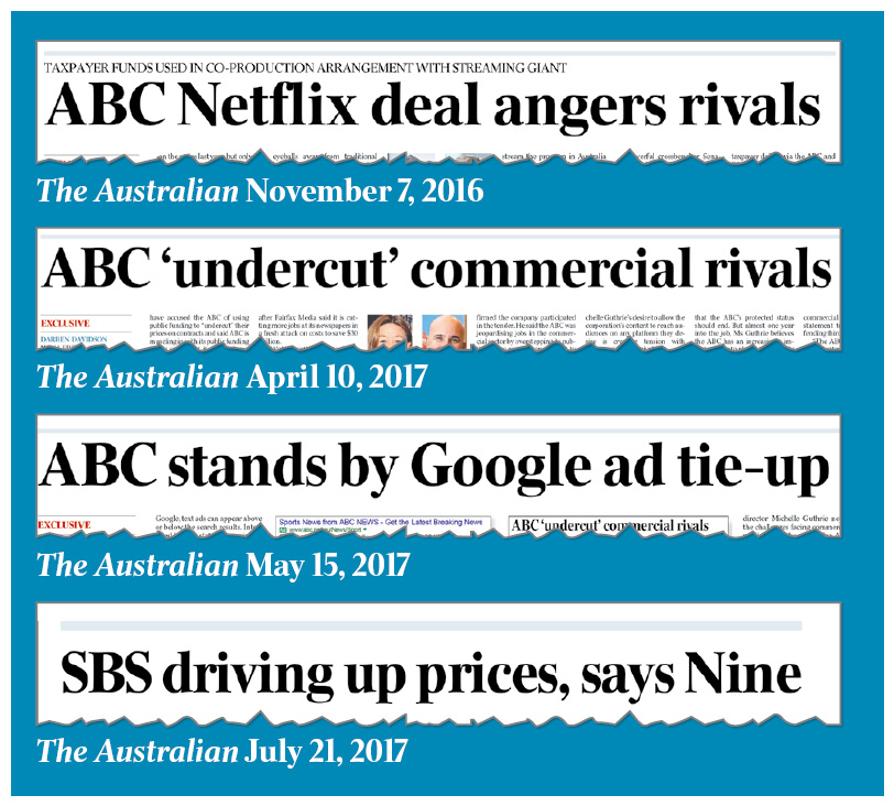 Calls to rein in ABC and SBS