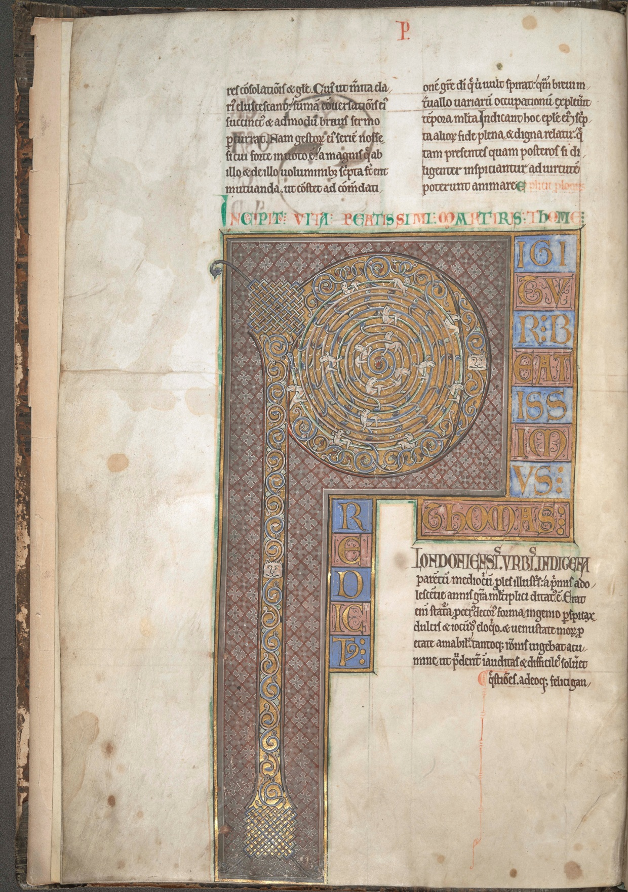 Zoomable: Letters of St Thomas Becket