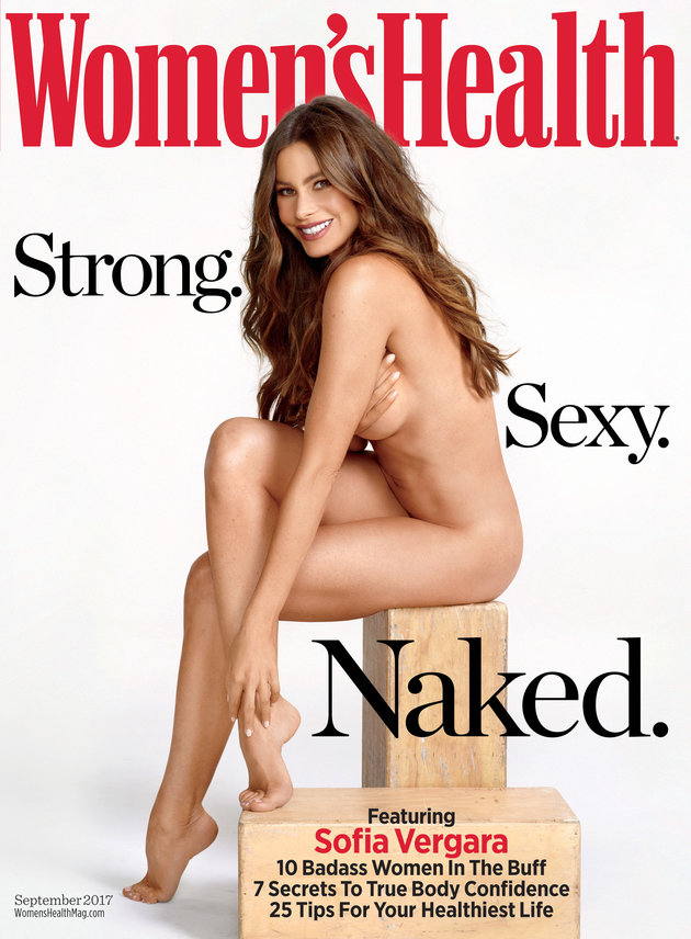 At 45, Sofia Vergara gets naked for Women's Health magazine cover