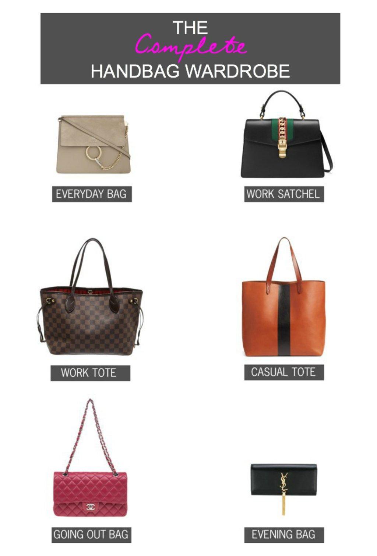The Complete Handbag Wardrobe