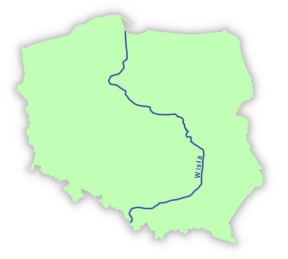 Klasowy pamiętnik: Mapa Polski - partnerzy z Literkowa