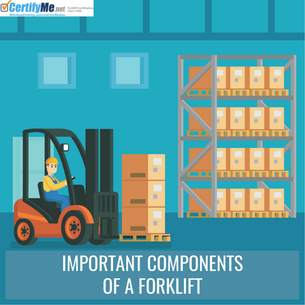 5 Most Important Parts Of A Forklift Certifyme