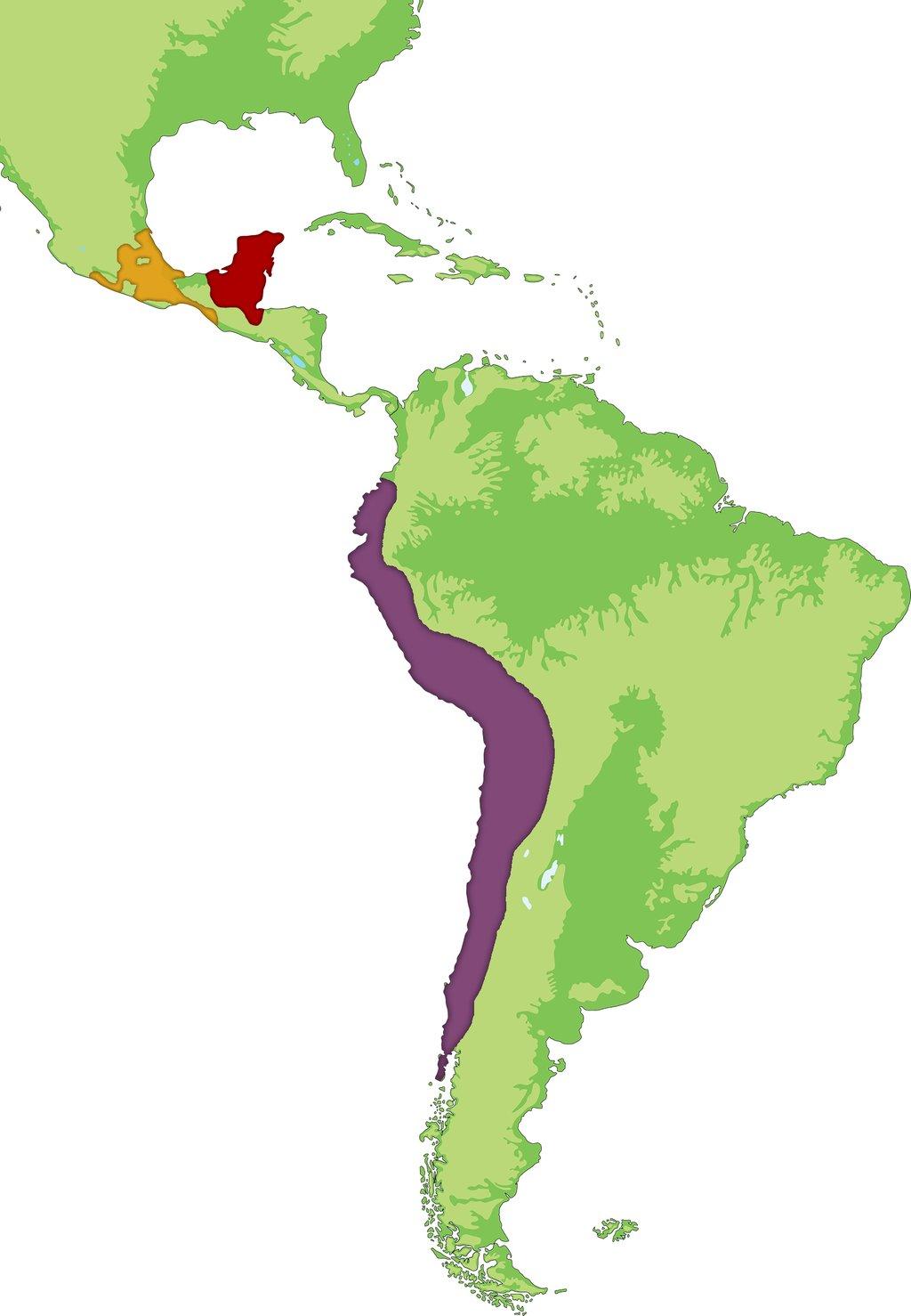 inkariket kart Mayaer, inkaer og aztekere: Lær deg forskjellen | Historienet.no inkariket kart