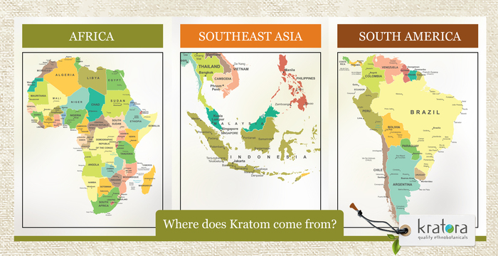 International Map of Where Buying Kratom is Legal
