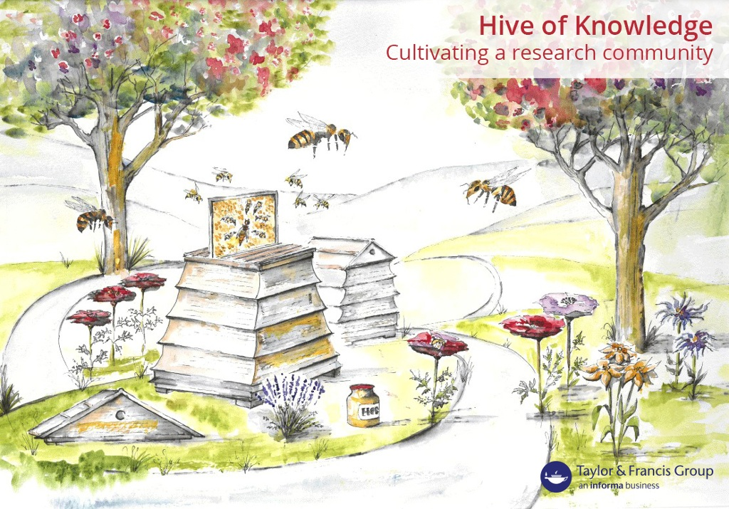 Hive of Knowledge illustration with hotspots