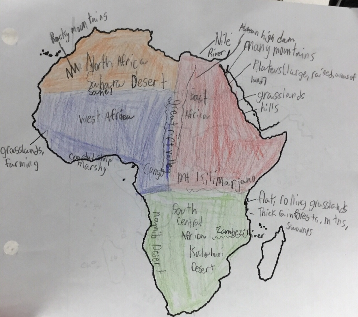 Picture of: South Africa Map Luke