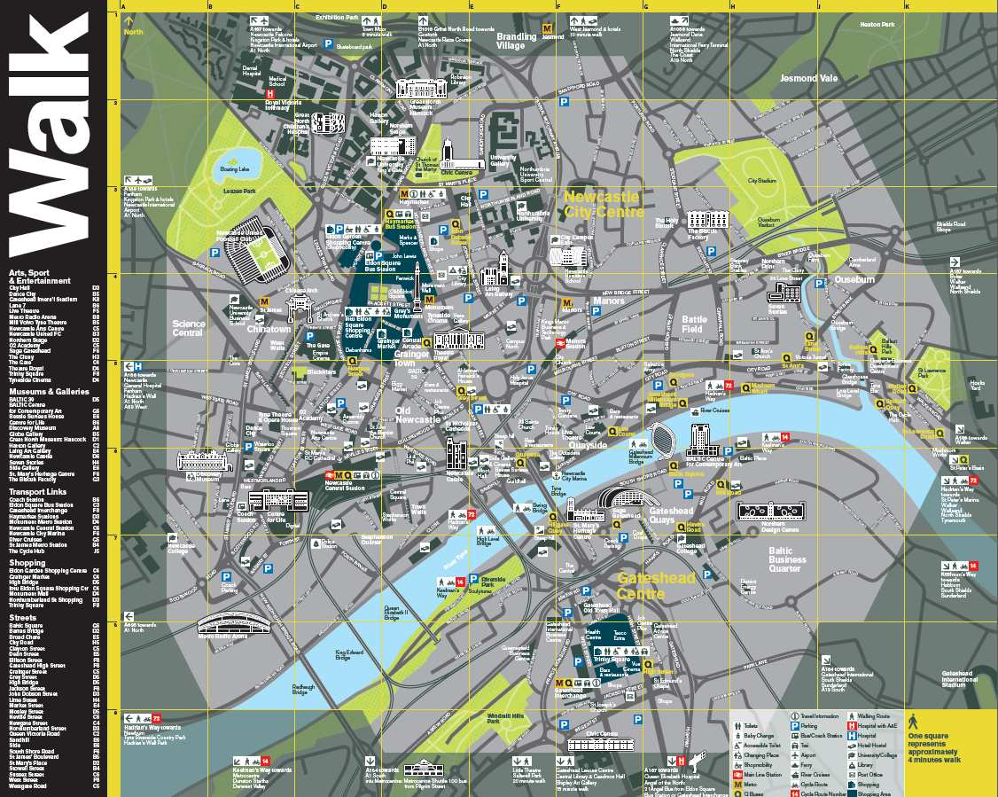 Map Of Newcastle Clone of