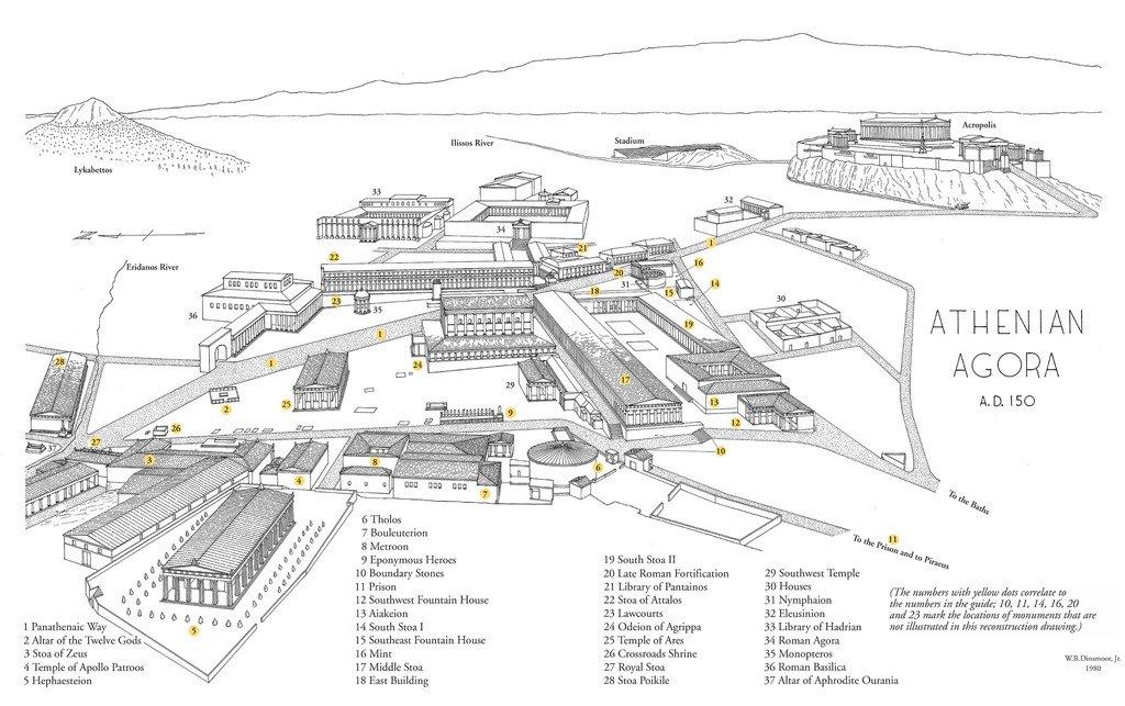 Ateena akropol on Ateenalinnriigi ehk polise keskele kalj