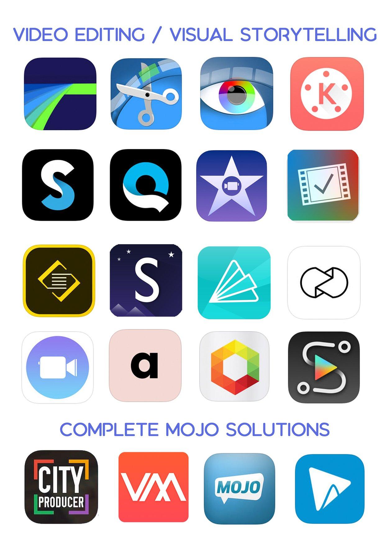 Ultimate iOS App List - Video Editing / Visual Stories