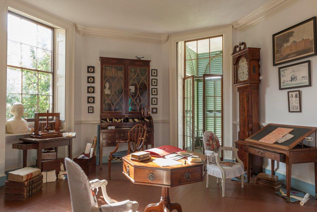 Library (Book Room)   Thomas Jefferson's Monticello