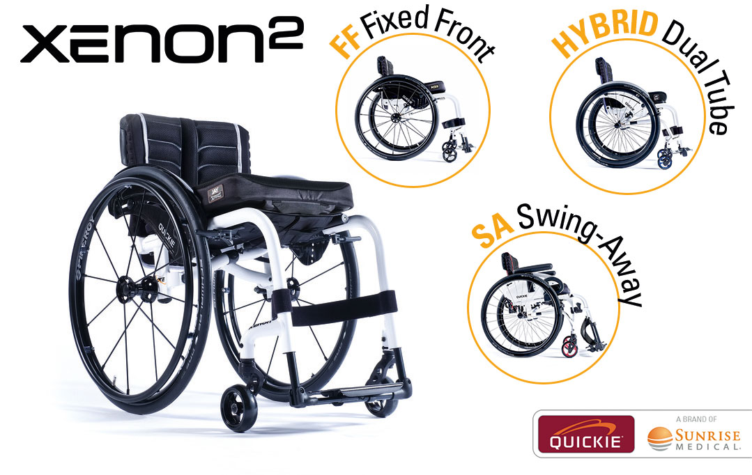 Quickie Xenon2 ultra lightweight folding wheelchair