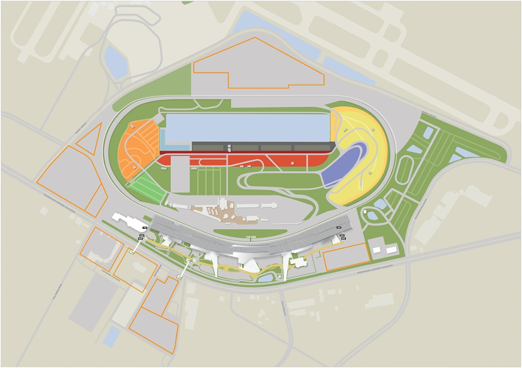 Maps - Daytona International Speedway
