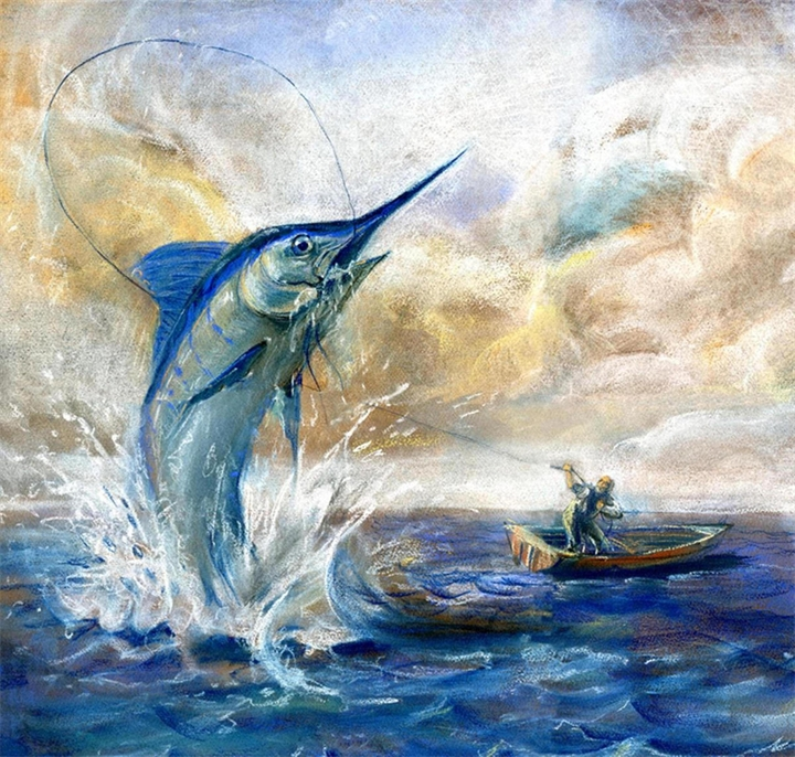 "Э. Хемингуэй ""Старик и море"""