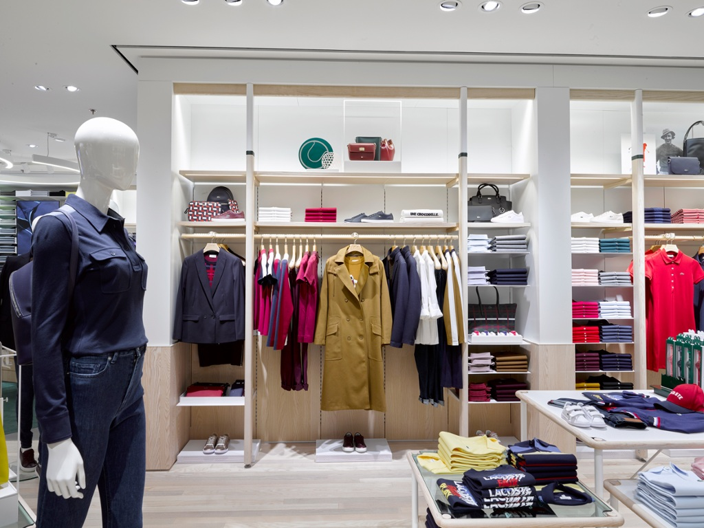 1daea81ee Lacoste presents its new store concept