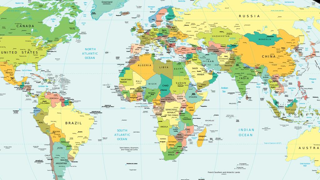 World Philosophy Day 2017: political philosophy across the globe [map]