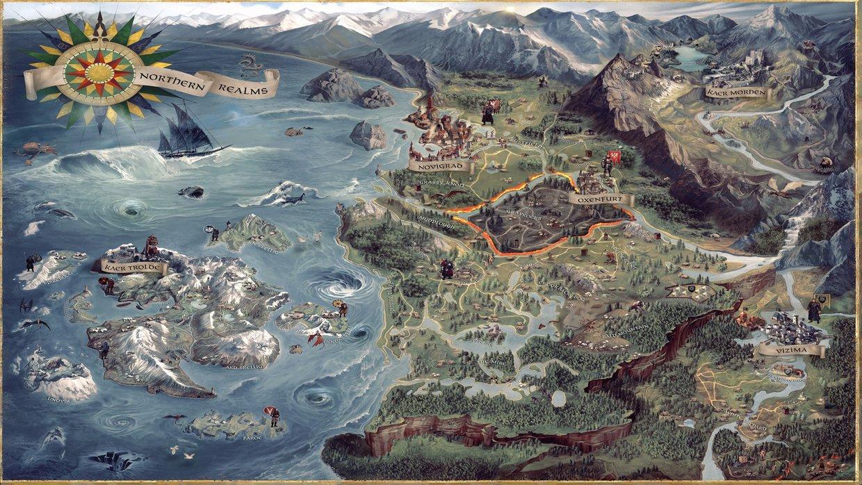 The Witcher 3 Mapa.Mapa Informativo The Witcher 3