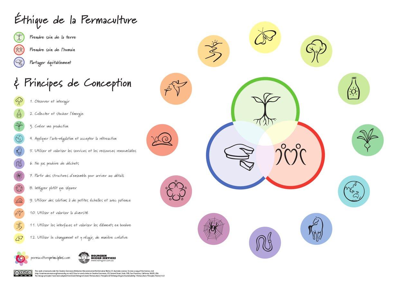 Les Principes de la permaculture de David Holmgren