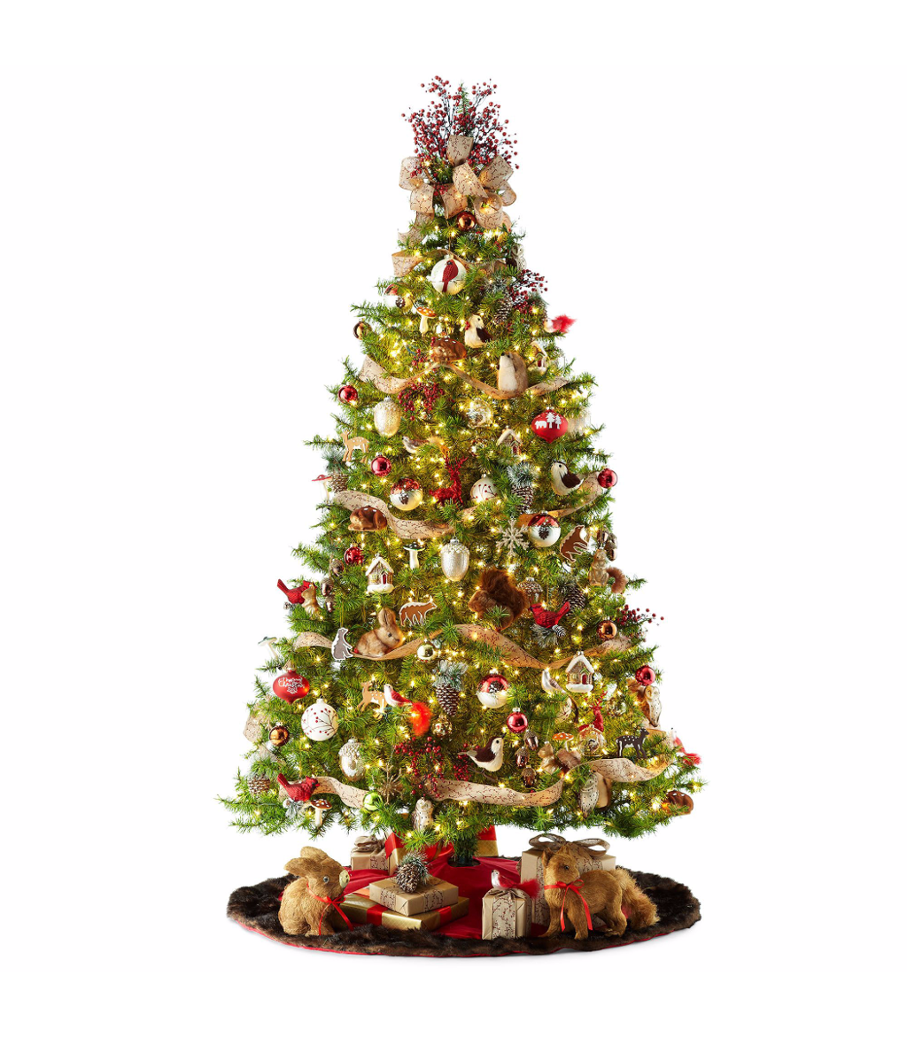 how to decorate a christmas tree style by jcpenney - Jcpenney Christmas Decorations