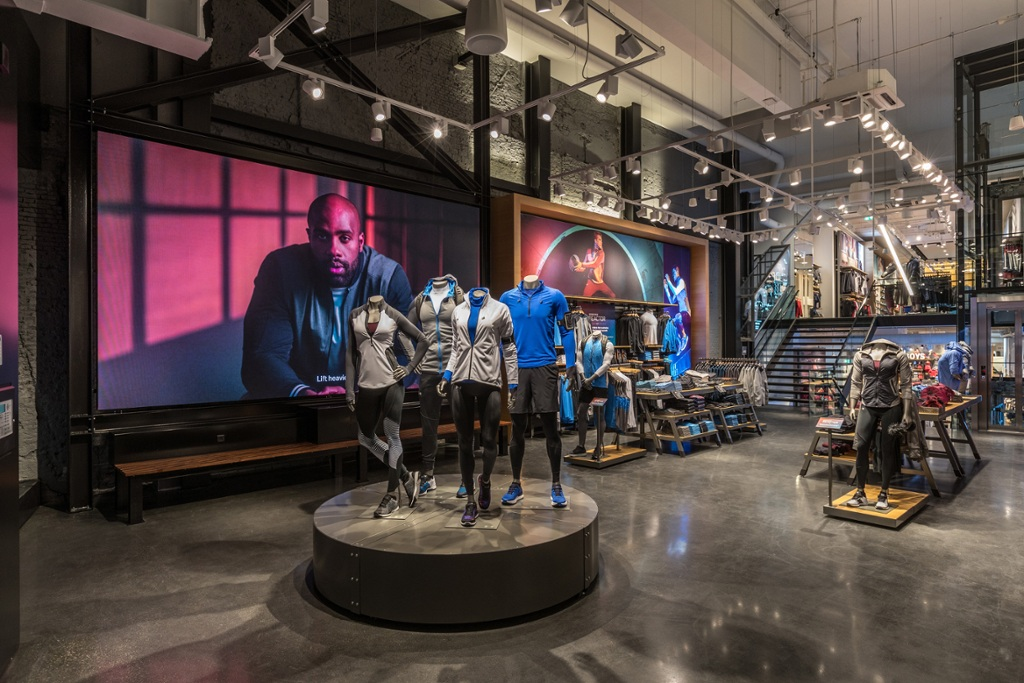 Europees debuut: Under Armour opent eerste Brand House in Amsterdam