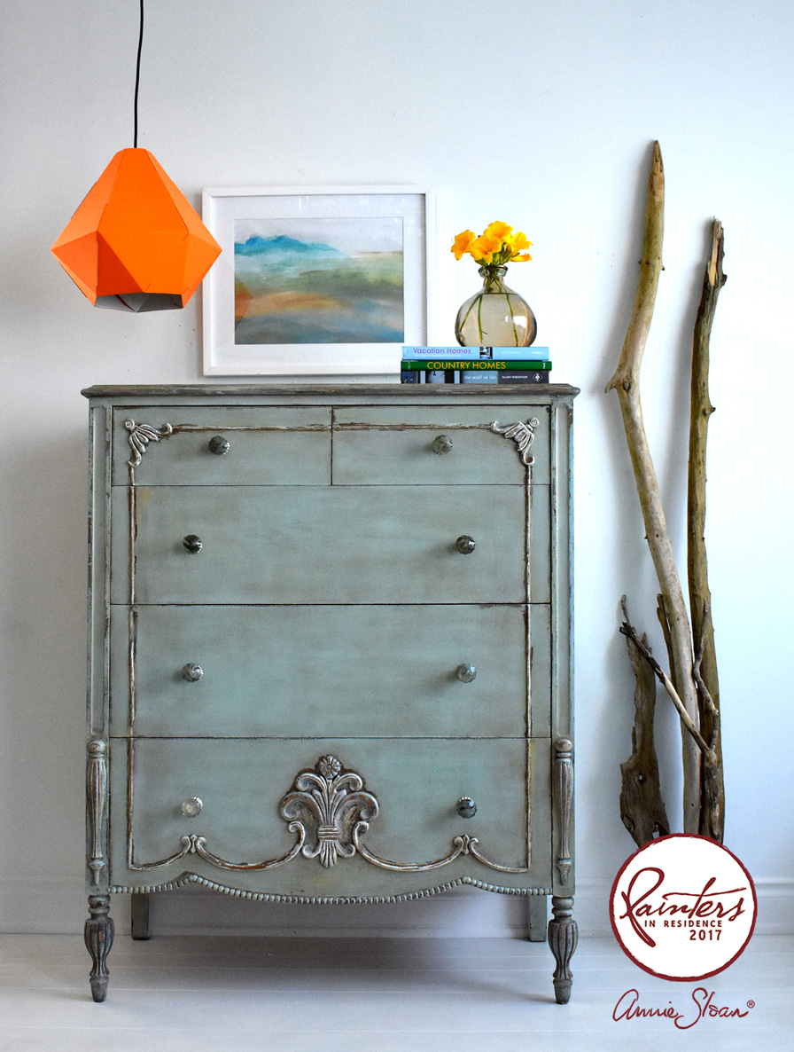 Rustic chest of drawers by Ildiko Horvath