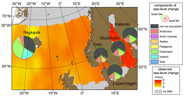 Situation with baltic sea level increase