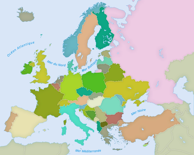 Euroopan Maat Ja Pääkaupungit