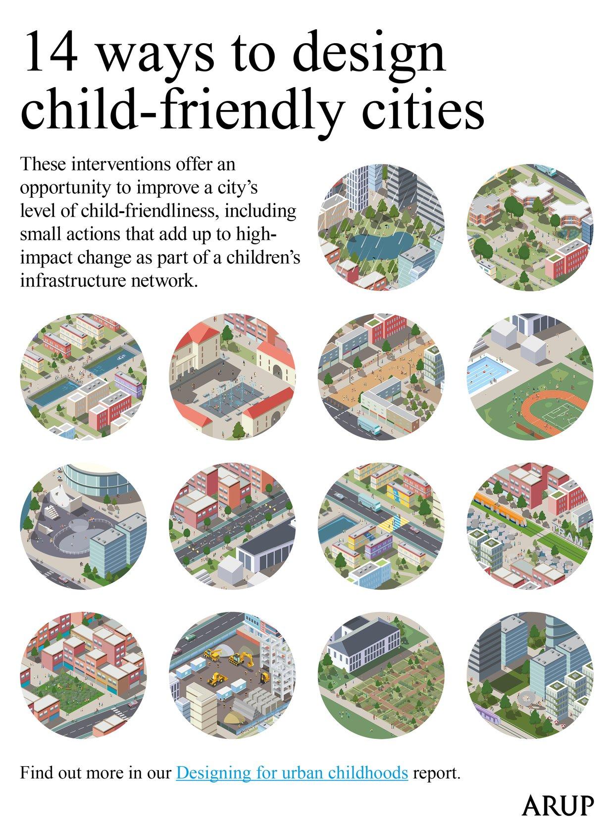 14 ways to design child-friendly cities