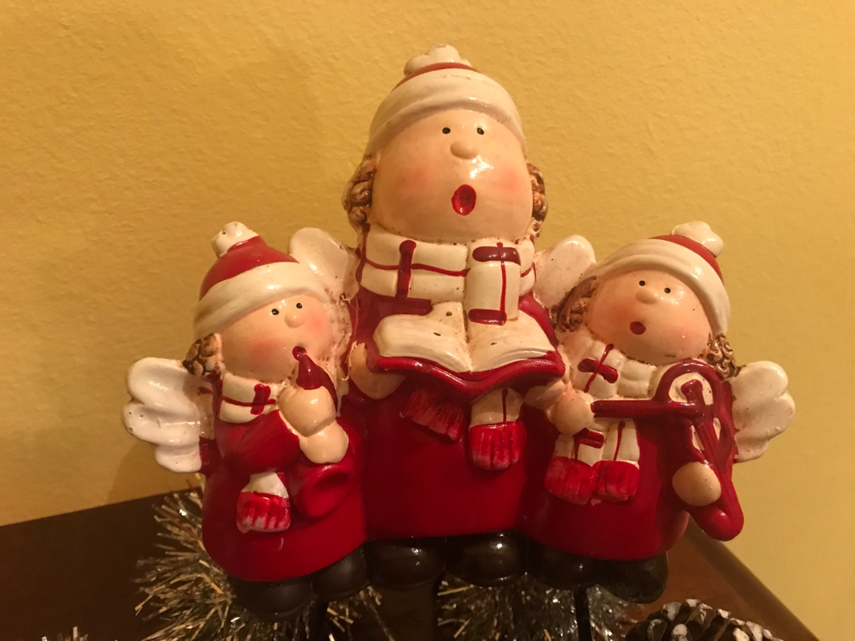 There are also the angels that inform the births' jesus, ...