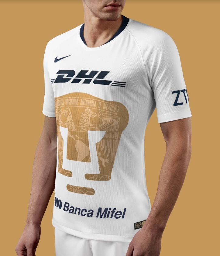 7b4d6a9a6 Pumas presenta su elegante jersey Nike 2018-19 - Futbol Total