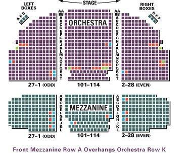 Broadhurst theatre seating chart 3d broadhurst theater seating