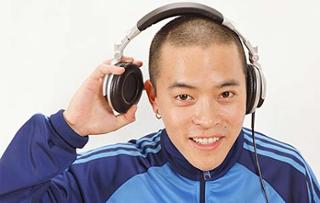 Image result for taking off headphones