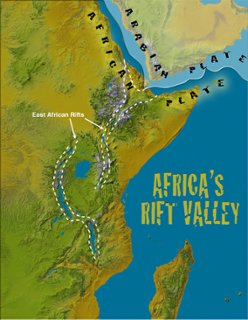 World Population Distribution ThingLink - Africa map great rift valley