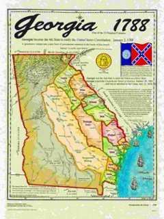 Colonies Map ThingLink - Georgia map english