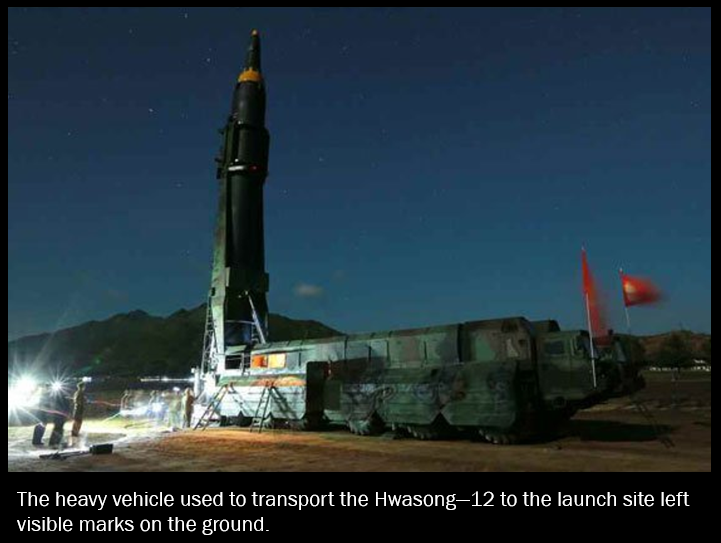 North Korea's Hwasong-12 Missile: Stepping Stone to an ICBM